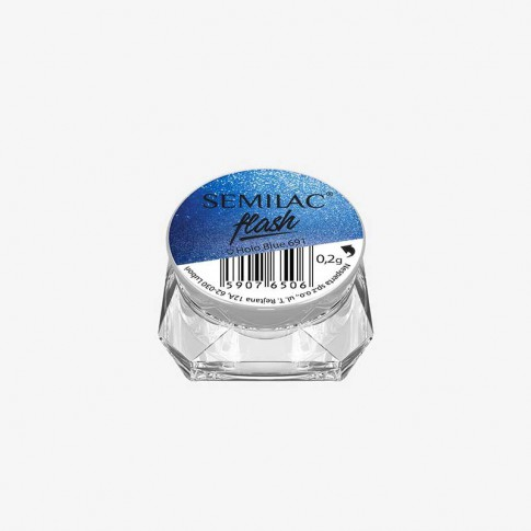 Втирка 691 Flash Holo Blue Semilac купить