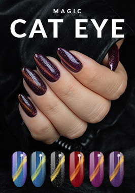 Magic Cat EYE новый гель-лак кошачий глаз